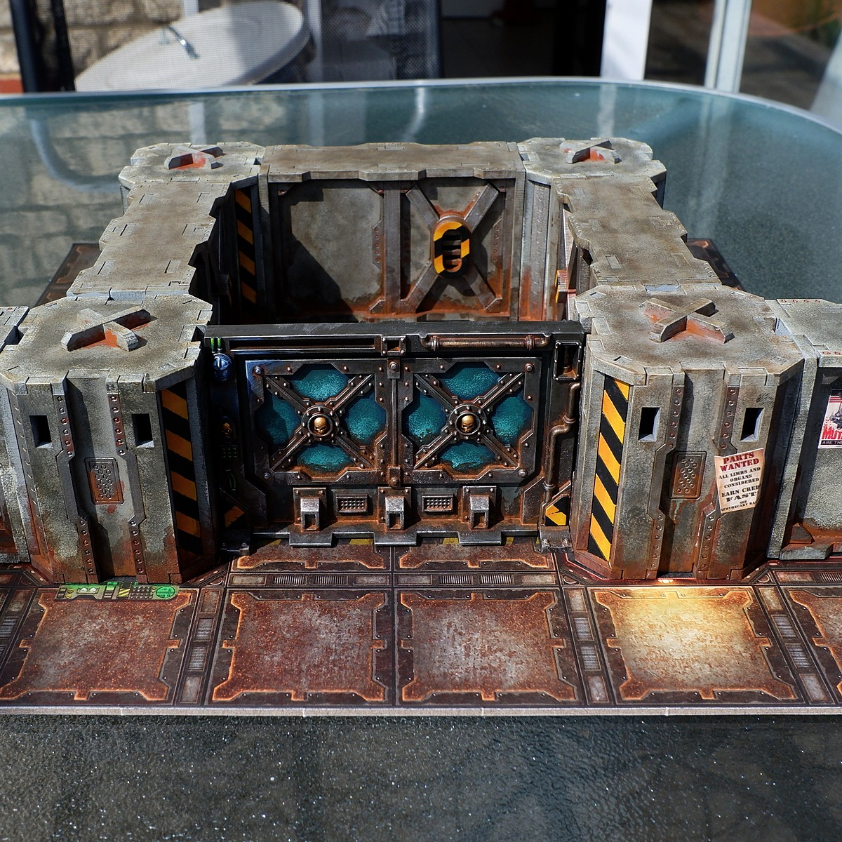 Zone mortalis terrain